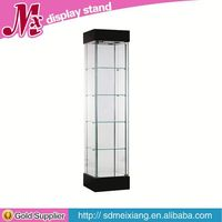 open display cabinet, MX3040 color custom elegant fashion clear acrylic shoe display case manufacturer