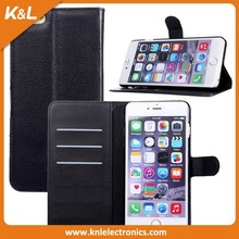 mobile phone leather case, buckle mobile phone case for iphone 6