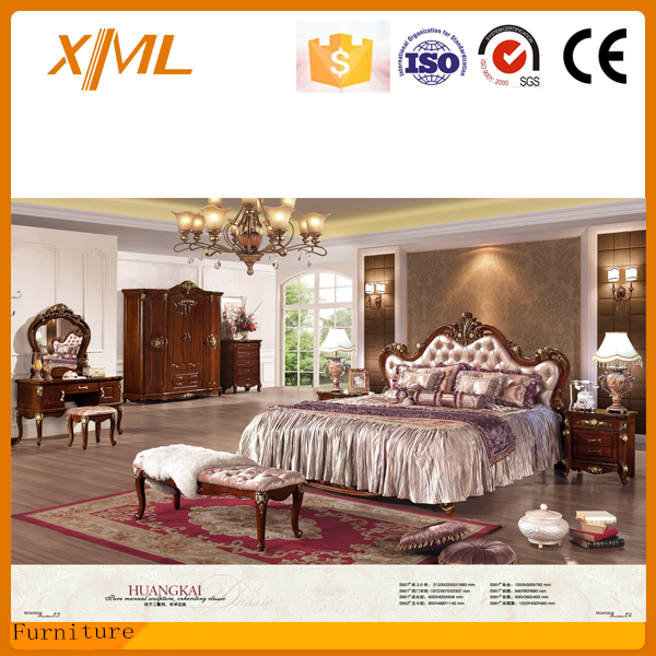 American style married classic luxury bedroom furniture for American classic bedroom