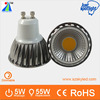 most favorable AC85-265V 500lm gu10 led /cob-5w/ led spot light with CE&RoHs