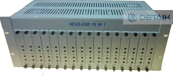 JM-50168 16 Channels Fixed Adjacent Modulator (Fixed Modulator Headend)