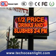 high quality led display flash led light box advertising wirlessled electronic digital substitute board display