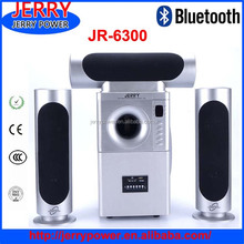 Guangzhou 3.1 active professional speaker sound system with amplifier for home , stage, karaoke