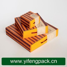 Custom Paper Box Packaging Company Commercial Disposable Snack Paper Food Packagings