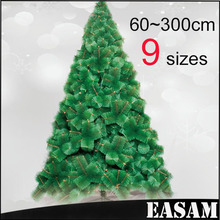 2015 popular indoor Artificial PE/PET Pine needle Christmas tree