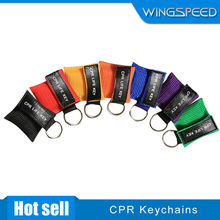 CPR keychains with customized logo,lowest price,high quality,excellent service