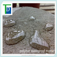polymer cement waterproof mortar with SGS, LEED, ISO9001 certificate roof waterproofing buiding material