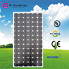 Excellent quality monocrystalline 290w solar panel frame plastic