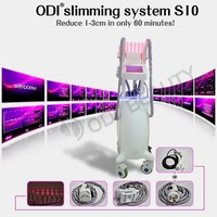 OD-S10 Non-invasive 4-IN-1 Cavitation Vacuum Rf Lipo Laser Body Contouring Machine For Spa with CE certificate