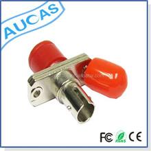 Low Price SM/MM ST fiber optic adapter/Adaptor Manufacturer,High quality&Good price