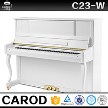 mini upright piano instrument music concert black polished piano with metronome