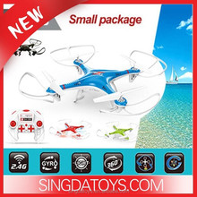 2015 NEW ARRIVAL !LH- X10S LED Drone 2.4G 6Axis RC UFO with LED flashing Light 3D Flying cheap RC Headless Mode Quadcopter Kit