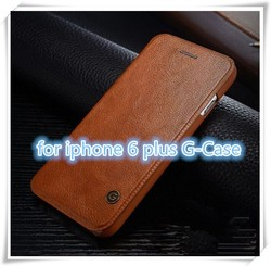 Luxury Genuine PU Leather Flip Case Wallet Cover For Apple iPhone 6 & 6 PLUS