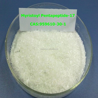 Factory Supply Cosmetic eyelash growth Myristoyl Pentapeptide-17/Cosmetic peptide Myristoyl Pentapeptide-17