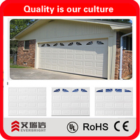 China manufacturer High Security Steel Automatic Sectional Garage door for Sale