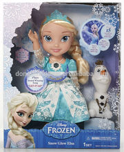 My First Princess Frozen Snow Glow snow queen Elsa singsing dolls for kids Christmas