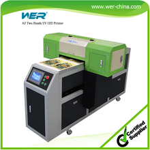 color and white simultaneously printed with FREE RIP software a2 uv flatbed printer