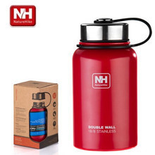 Naturehike-NH outdoor sports camping stainless steel sports bike bottle vacuum insulation cup thermos 600L two sizes
