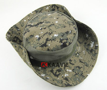 Camouflage Military Boonie Hat foldable Tactical Ripstop Combat Caps hats with mesh insert