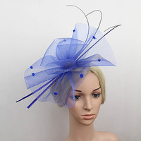 Handmade Girls Big Crinoline Fascinator Headband For Halloween/Chirstmas