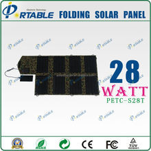 28W solar pannel for laptop
