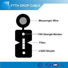 Ftth drop cable single mode g657a2 2 wire