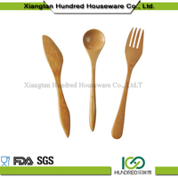 Hiway china supplier Eco-friendly and superior quality wooden 3 Pcs Bamboo Kitchen Cooking Utensil in Bamboo Holder