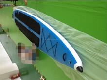 soporte inflable Junta de pádel, sup paddle inflable con ventana transparente