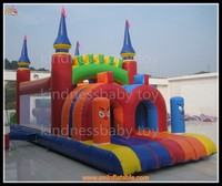 inflatable obstacle course for kids/Infatable bounce house/outdoor inflatable playground toys