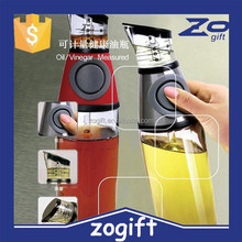 ZOGIFT Container Press and Measure Oil Dispenser and Vinegar