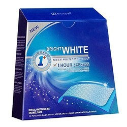 High Quality Dental StripOne Hour Express Whitening Strips Dental Dry Teeth Whitening Strip