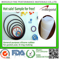 Special extrusion silicone rubber for silicone tubes and heating wires