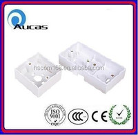 Aucas China network rj45 wall faceplate ABS back box offer price
