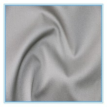 China supplier polyester cotton TC plain dyed twill fabric for man clothes