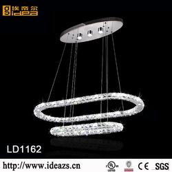 2015 popular modern accesorio cristal para lamparas