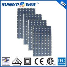 Monocrystalline High efficiency flexible solar panels 200 watt