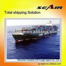 ocean freight cargo consolidator from Shenzhen or Guangzhou to Europe