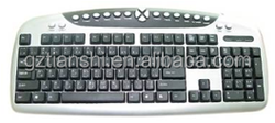 2015 new design gaming USB pc keyboard multimedia computer keyboard wired keyboard