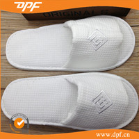Luxury Hotel Bedroom Waffle Cotton Slippers
