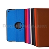 360 Degree Rotation Cross Texture Stand With Elastic Belt and Card Slots Leather Cover for iPad Air 2 iPad 6