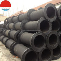 rubber hose for sea water with high wear resistance