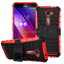 New arrival TPU&PC 2 in 1 combo armor for asus zenfone 2 bumper case wholesale alibaba