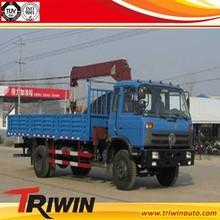 CHINESE 7 TON 4*2 CUMMINSES 180 HP EU3 UNIC TRUCK MOUNTED CRANE SALE