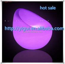 LED light chair Multi color changing LED chair/top quality led chair furniture