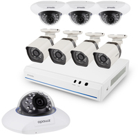 Zmodo cctv 8 Channel 720p NVR system Generation 2 with 8pcs HD IP security Cameras