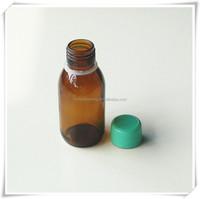 100ml amber glass tablet bottle
