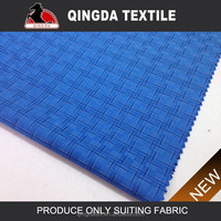 1898 colorful slub checks design latest fashion dress fabric