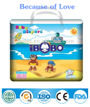 IBOBO disposable babies diaper 2015 new products from baby diapers manufacturers