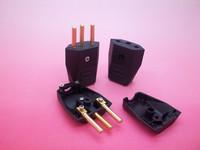 4MM,10A,250V,two-pole Brazil plug inserts,Brazilian NBR 14136