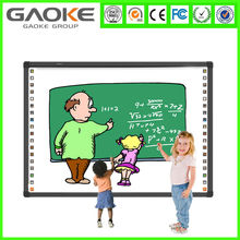2 touch interactive whiteboard optical smartboard with Smart pen finger touch IWB whiteboards with OEM service